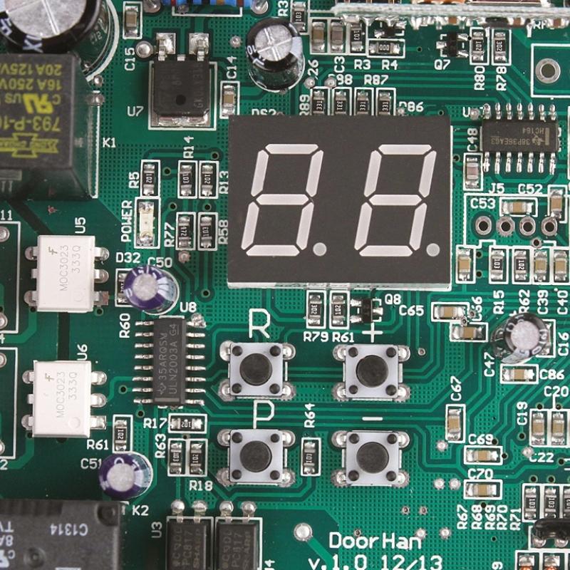 Блок управления PCB-SW для распашных приводов (DOORHAN) (плата+корпус)