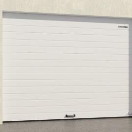 Ворота гаражные секционные (RSD01 LUX), L= 2500, H=2100