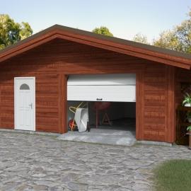 Ворота гаражные секционные (RSD01 LUX), L= 3000, H=2600